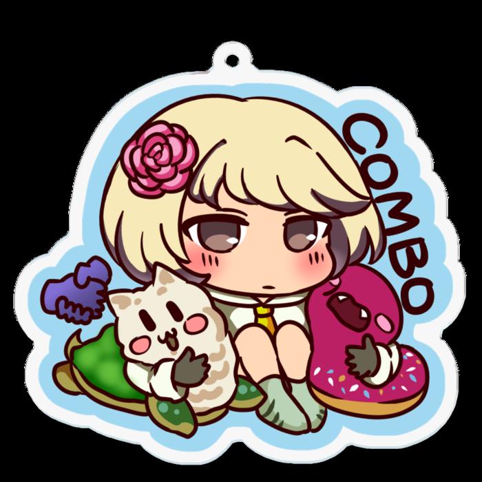 コンボ召喚獣(千刃剣魔&美ラビラマン娘&アルパカメ&珍ポンデリング)