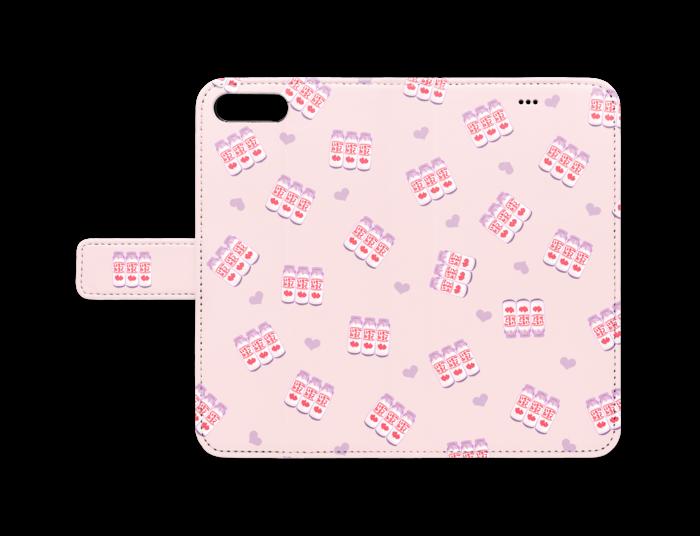 e4ba3699ab 手帳型iPhoneケース - iPhone 8 Plus / 7 Plus - ストラップ穴 なし
