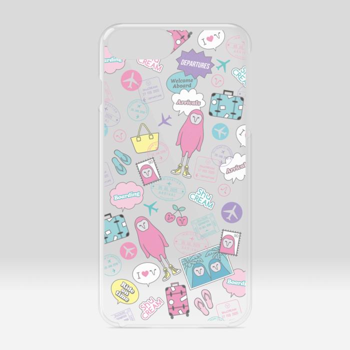 クリアiPhoneケース - iPhone 6 Plus / 7 Plus / 8 Plus