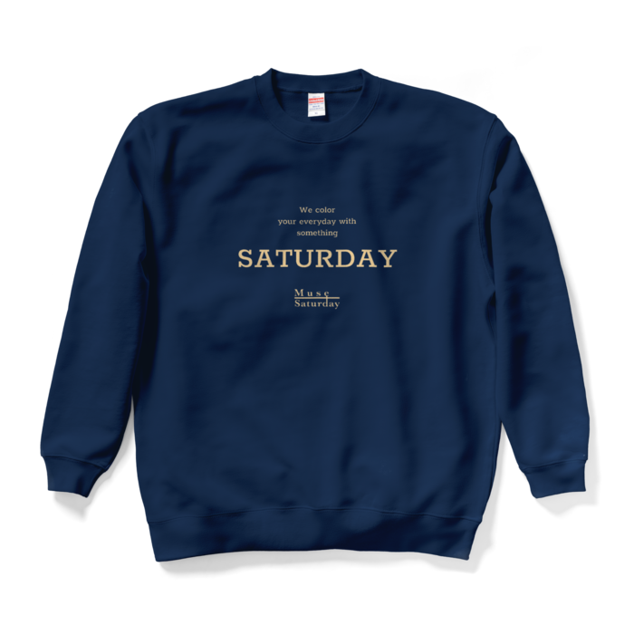 Saturday《Logo typeB》- XL -