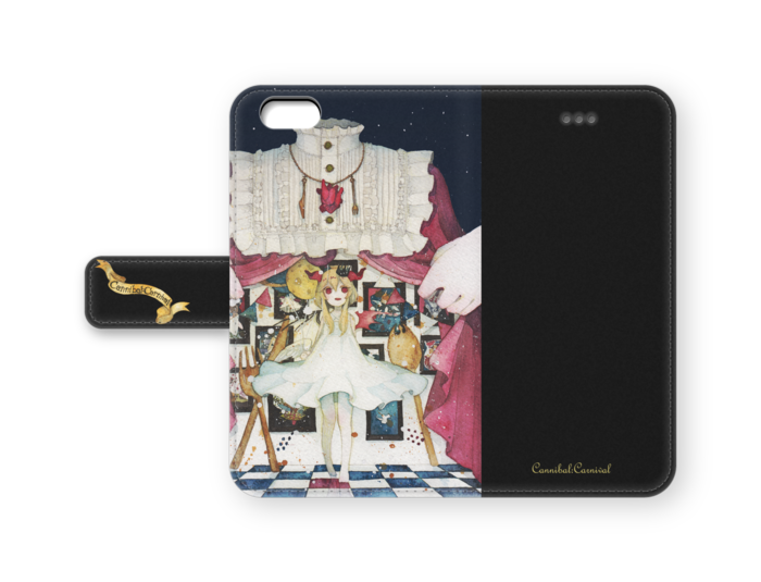 CannibalCarnival の手帳型 iPhone ケース