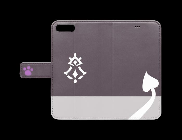 手帳型iPhoneケース - iPhone 8 Plus / 7 Plus - ストラップ穴 なし