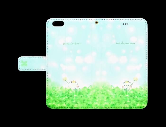 手帳型iPhoneケース - iPhone6 Plus - ストラップ穴 あり