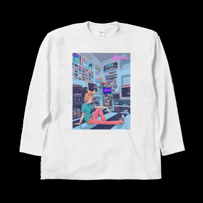 ロングスリーブTシャツ - XL - ホワイト