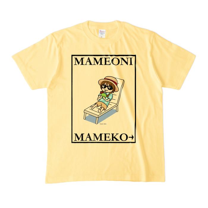 カラーTシャツ(淡色) - M - ライトイエロー