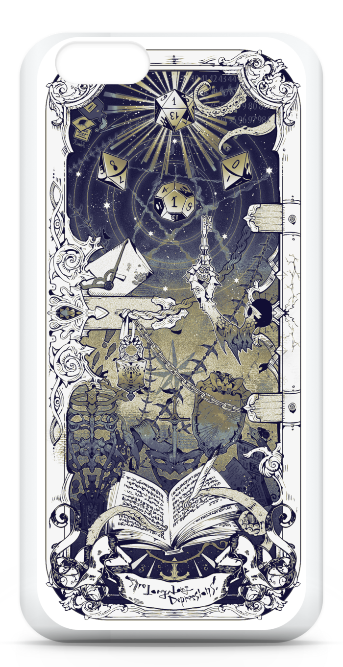 iPhone6ケース/白