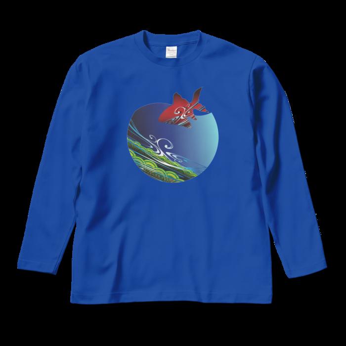 ロングスリーブTシャツ - M - ロイヤルブルー