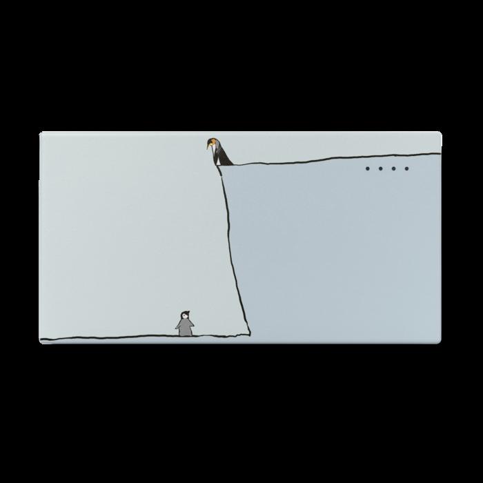 高低ペンギン - 123 x 65 (mm)