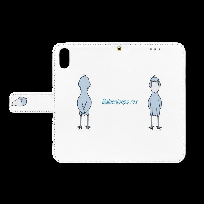 手帳型iPhoneケース - iPhone XS / X(ベルトあり)
