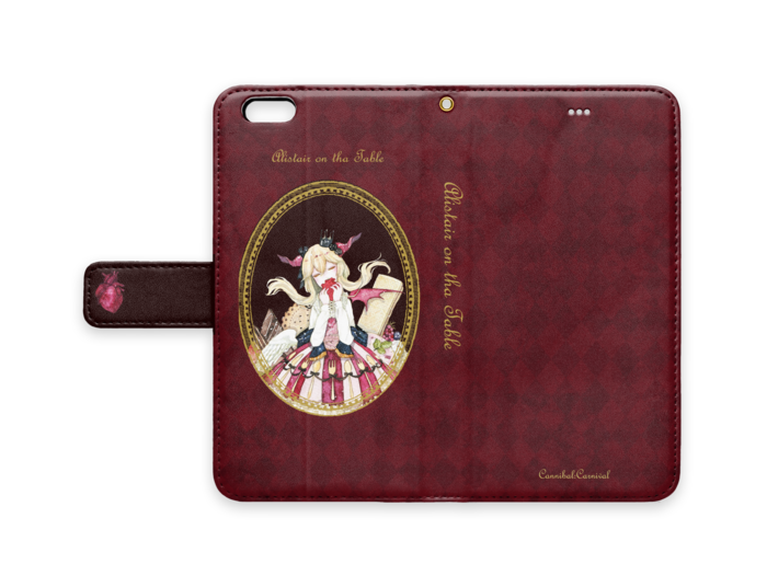 手帳型iPhoneケース - iPhone6/6s Plus - ストラップ穴 あり