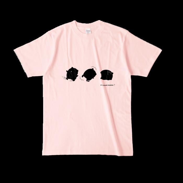 カラーTシャツ - L - ライトピンク