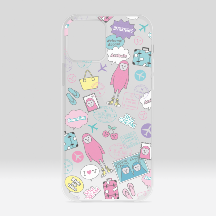 クリアiPhoneケース - iPhone12 / 12 Pro