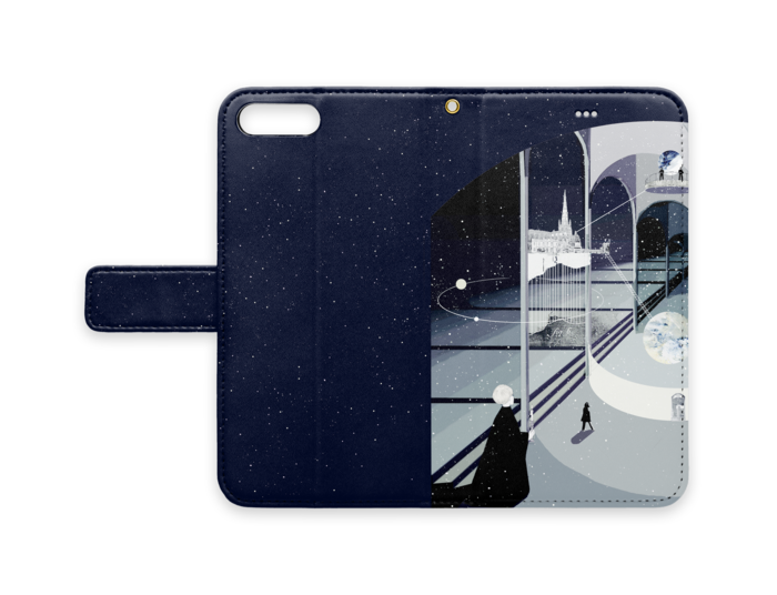 手帳型iPhoneケース - iPhone 7 Plus - ストラップ穴 あり