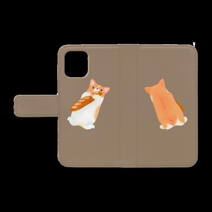 手帳型iPhoneケース - iPhone12 mini - ストラップ穴 なし