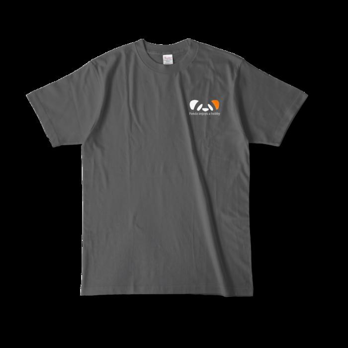 カラーTシャツ - L - チャコール (濃色)