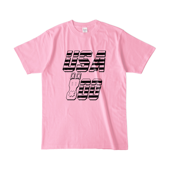 カラーTシャツ(淡色) - L - ピーチ