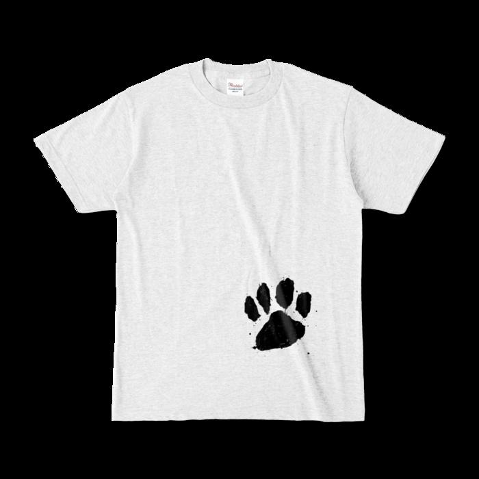 カラーTシャツ(淡色) - S - 正面 - アッシュ