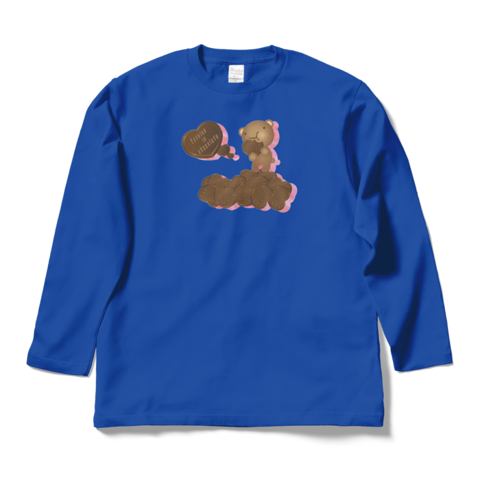 ロングスリーブTシャツ - L - ロイヤルブルー
