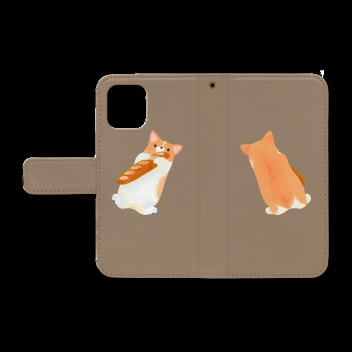 手帳型iPhoneケース - iPhone12 mini - ストラップ穴 あり