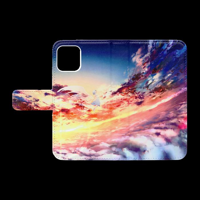 手帳型iPhoneケース - iPhone11Pro - ストラップ穴 なし