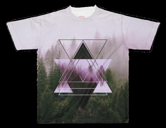 フルグラフィックTシャツ - XL - 正面印刷のみ