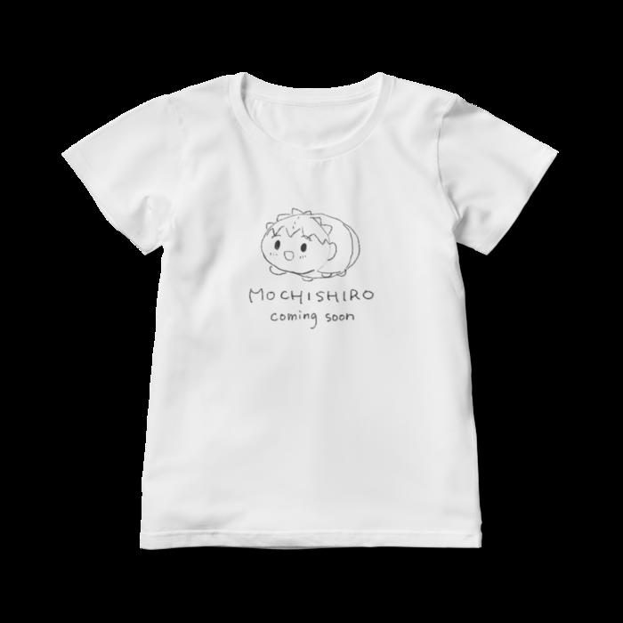 レディースTシャツ-白L