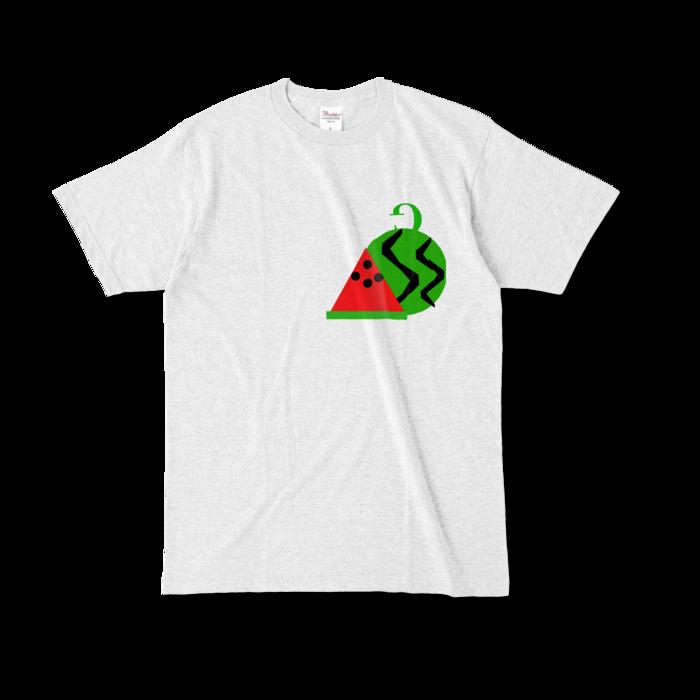 カラーTシャツ - L - アッシュ (淡色)