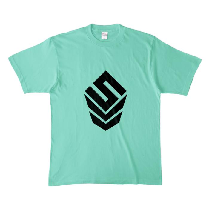 カラーTシャツ(淡色) - XL - アイスグリーン